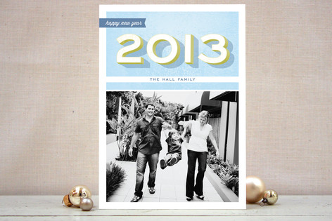 A Bold New Year New Year Photo Cards