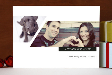Tectonic New Year Photo Cards