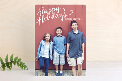 Merry Scriptmas New Year Photo Cards