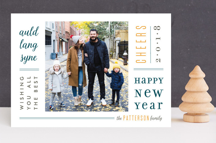 """Newsprint"" - New Year Photo Cards in Central Park by Julee London."