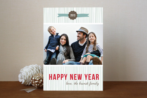 Ring In the New Year New Year Photo Cards