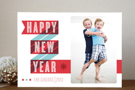 New Year Cheer New Year Photo Cards