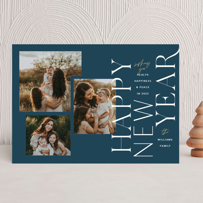 """""""Saltair"""" - New Year Photo Cards in Ocean by Robert and Stella."""