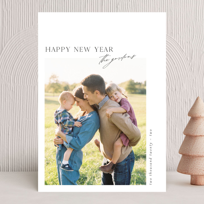 """Journal "" - New Year Photo Cards in Noir by Heather Cairl."