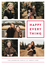 Every Happy Thing New Year's Photo Cards By Michelle Poe