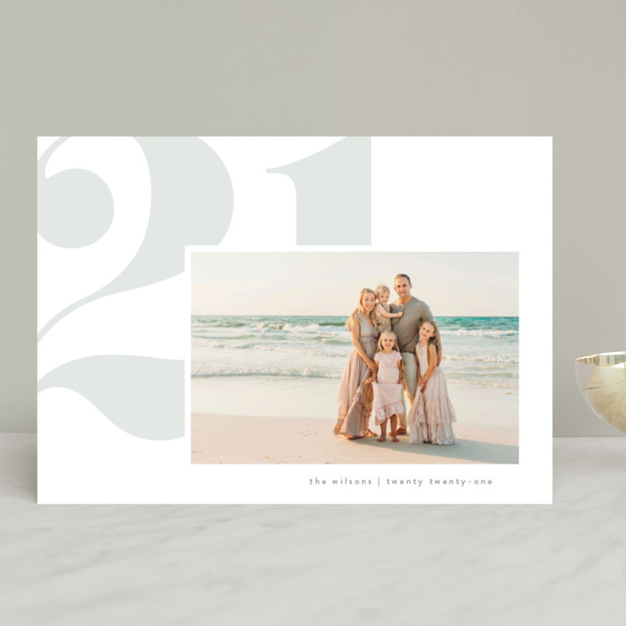 """fresh air"" - New Year Photo Cards in Mist by Erin L. Wilson."