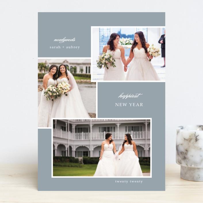 """newlywed"" - New Year Photo Cards in Sky by Summer Winkelman."