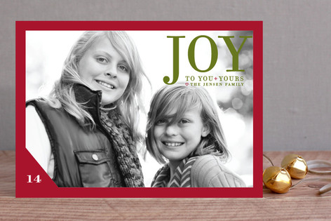 Float + Joy to You New Year Photo Cards