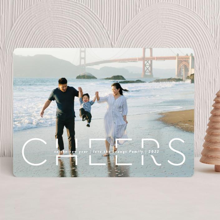 """""""Quietude"""" - New Year Photo Cards in Glacier by Rebecca Daublin."""