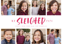 Sleighed New Year's Photo Cards By Lori Wemple