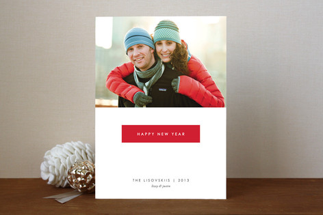 Gallery New Year Photo Cards