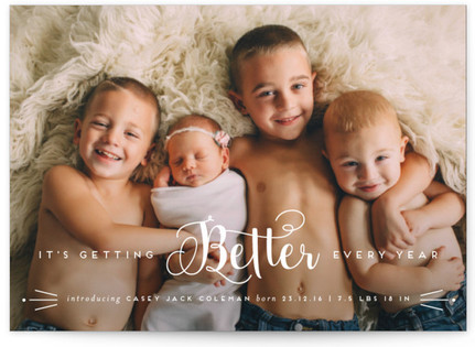 panelle New Year's Photo Cards