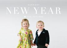 Modern Standard New Year's Photo Cards By Kristie Kern
