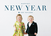 Modern Standard New Year's Photo Cards By Kristie Kern