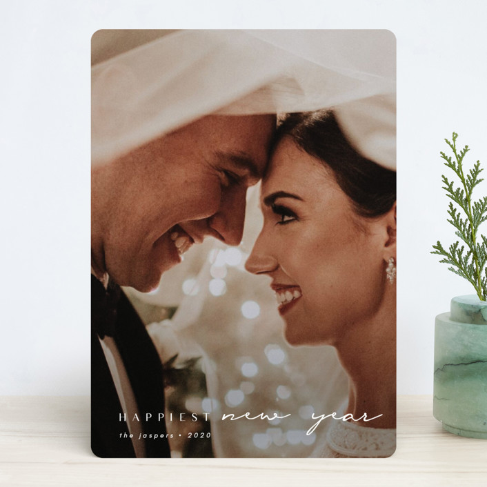 """""""Momenta"""" - New Year Photo Cards in Cloud by Kann Orasie."""
