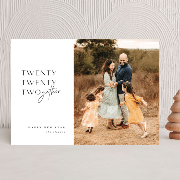 """""""2021derful"""" - New Year Photo Cards in Onyx by Lori Wemple."""