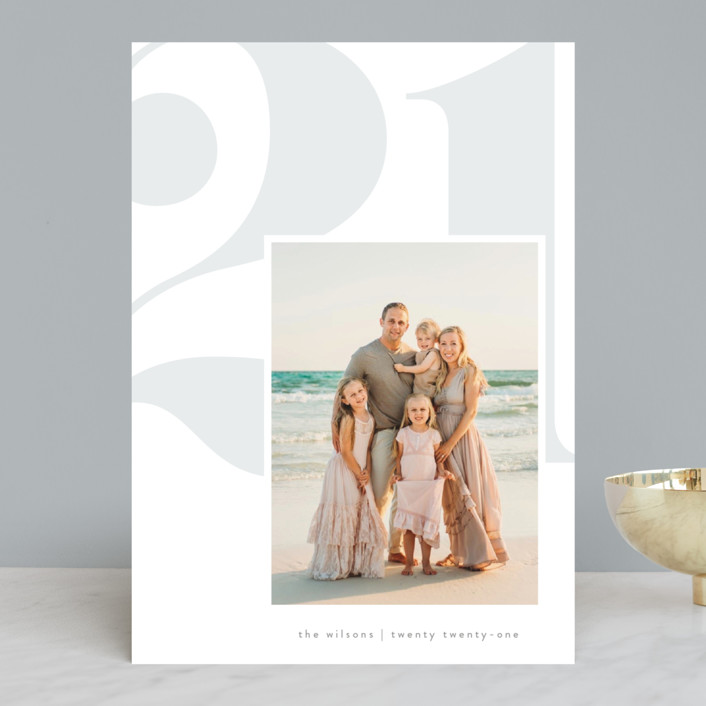 """""""fresh air"""" - New Year Photo Cards in Mist by Erin L. Wilson."""