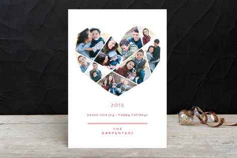 Complete Love New Year Photo Cards