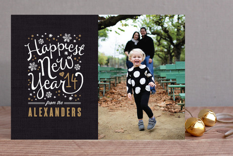Happiest Year New Year Photo Cards