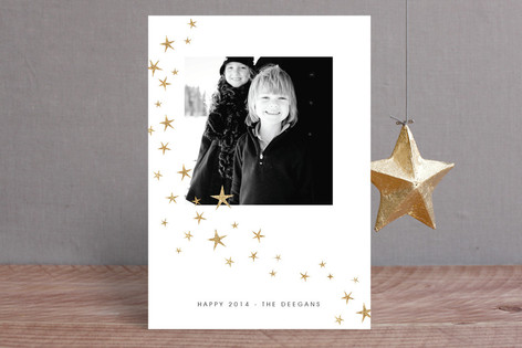 Twinkle Twinkle New Year New Year Photo Cards