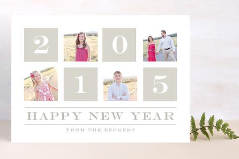 Slideshow New Year Photo Cards