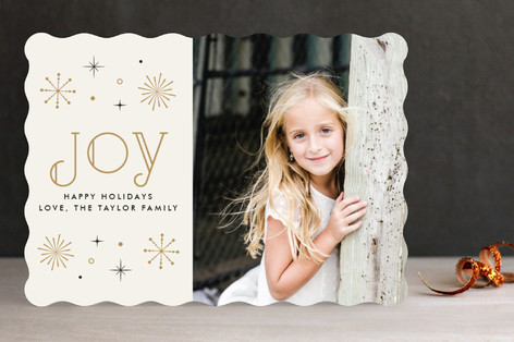 New Year Sparkle New Year Photo Cards