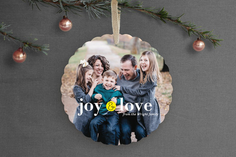 Little Joy Holiday Ornament Cards
