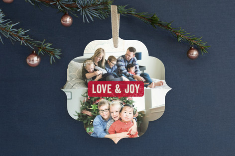 Simple Stamp Holiday Ornament Cards