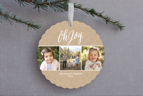 Krafted Joy Holiday Ornament Cards