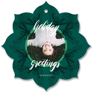 All Around Holiday Ornament Cards
