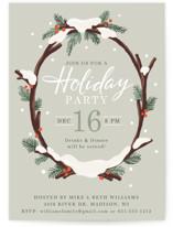 Snowy Wreath by Jamie Schultz Designs