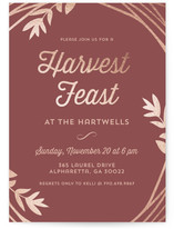 Harvest Feast
