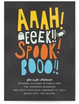 Booo, Eeek, Ahhh by Bethany Anderson