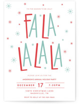 Fa La La La La Holiday Party
