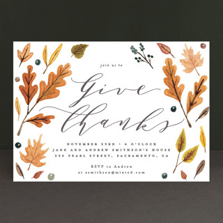 Giving Holiday Party Invitations