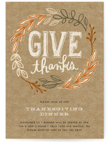 Rustic Give Thanks