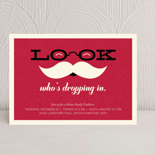 Special Guest Holiday Party Invitations