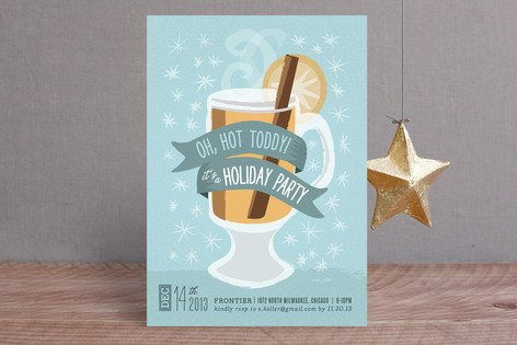 Oh, Hot Toddy! Holiday Party Invitations