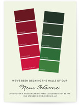 Holiday Paint Swatch by Becca Thongkham