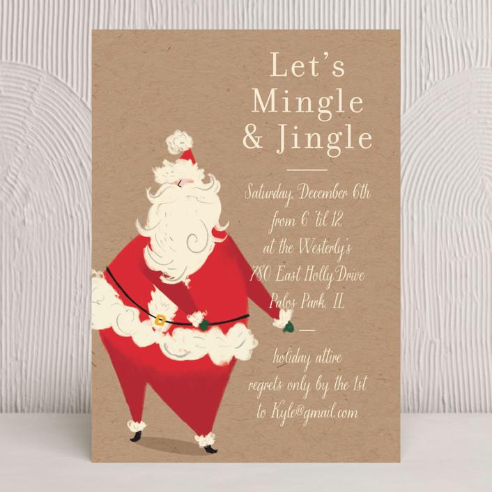 Santa Flaus Holiday Cards