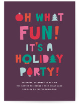 oh what fun - it's a holiday party