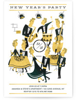 New year jazz party by Ana de Sousa