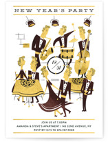 New year jazz party