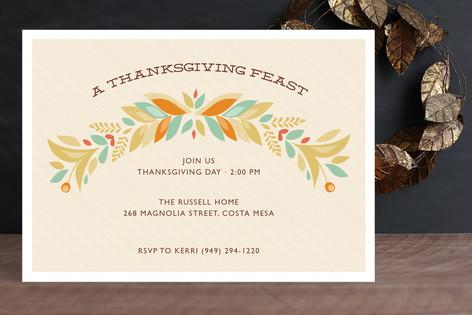 Abundance Holiday Party Invitations