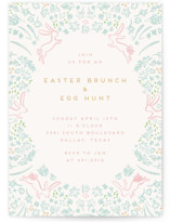 bunnies and brunch by Julie Murray