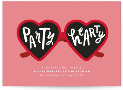 Party Hearty Holiday Party Invitations