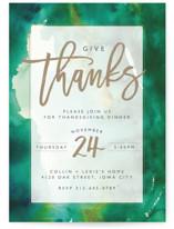 Turquoise Thanks