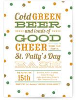 Green Beer Good Cheer