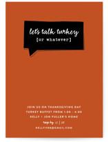 Talk Turkey