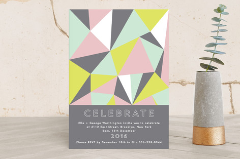 Time To Celebrate! Holiday Party Invitations